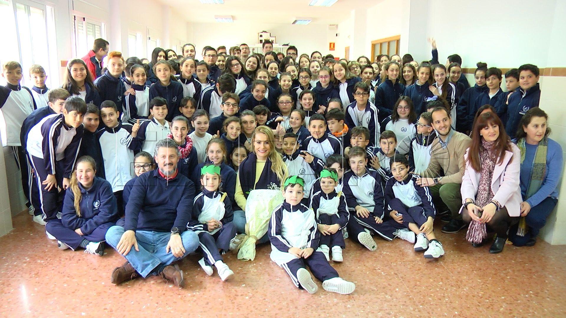 Lidia Valentín Participa En Un Encuentro Con Alumnos Del Beatriz De Silva