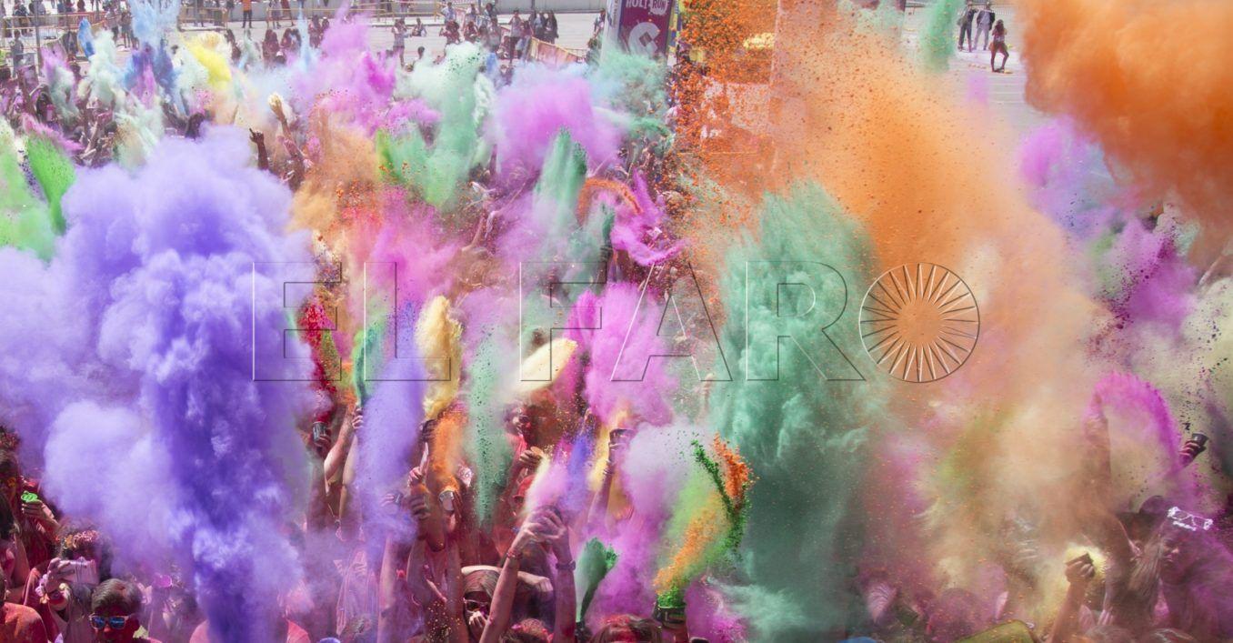El Festival Holi se prepara para llenar de color Ceuta