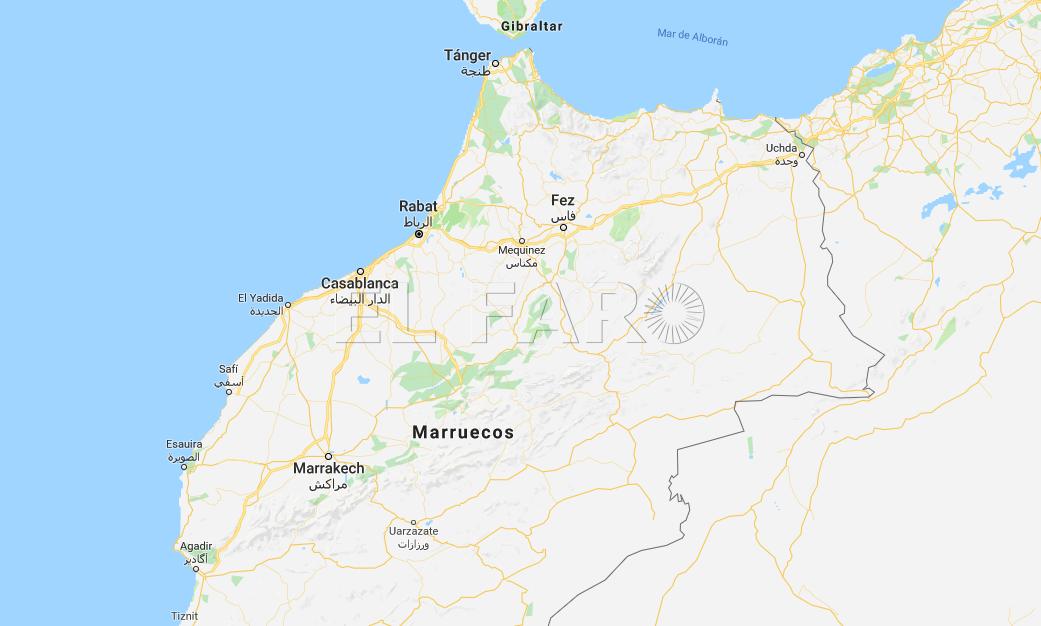 Mapa Marruecos Ceuta Y Melilla.Ceuta Y Melilla Se Ven Afectadas Por Google Maps El Faro