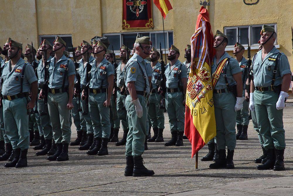 Sábado Legionario en García Aldave, como clausura de las VII ...