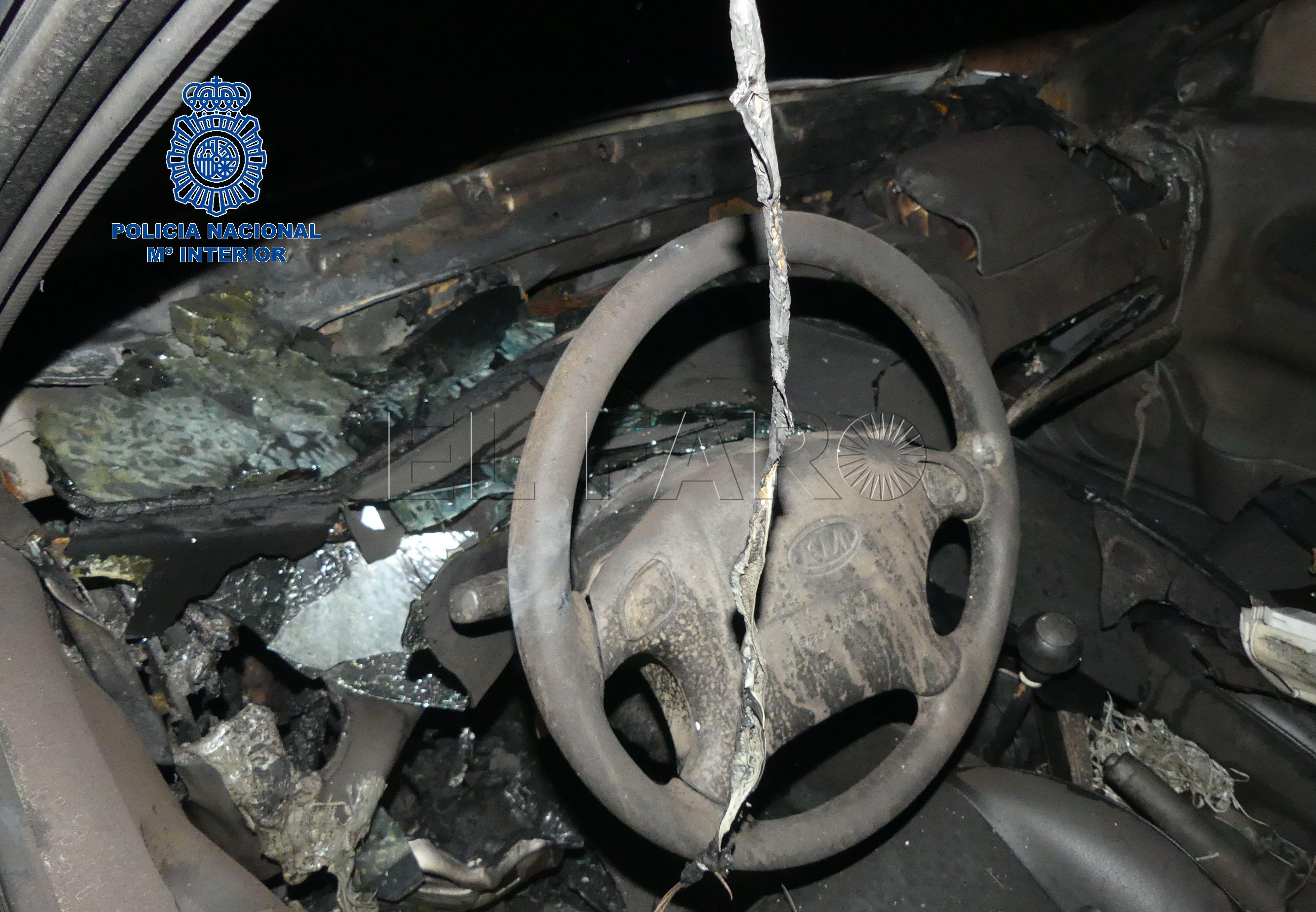 7a31ebc7e En libertad el detenido por la quema de un coche en Miramar