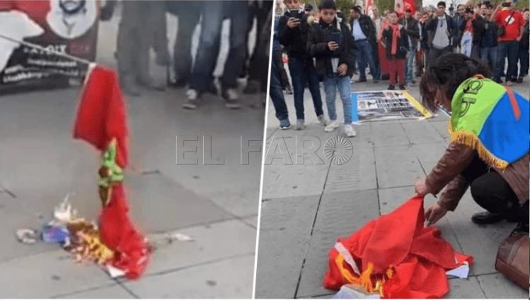 mujer-quema-bandera-marruecos