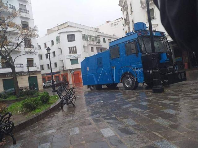 camion-antidisturbios-marruecos