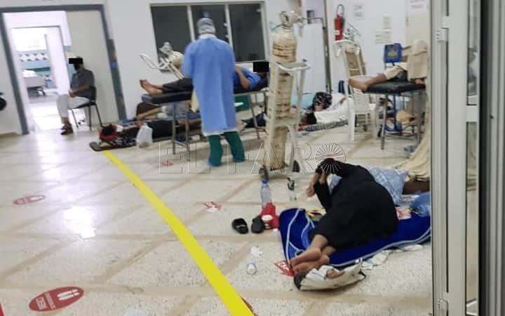 Brote de coronavirus en Tánger: hospitales saturados, falta de camas y pacientes en el suelo