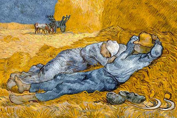 Siesta Van Gogh